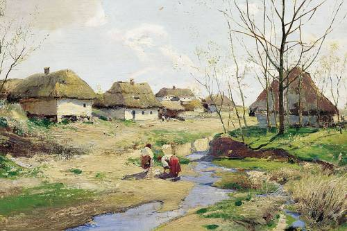 Васильківський с весна в україні